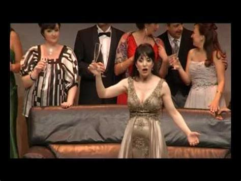 libiamo nei lieti calici testo verdi la traviata brindis doovi