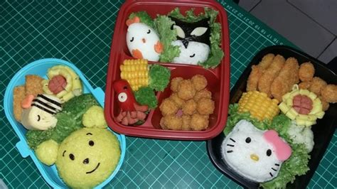 membuat bekal untuk anak bunda kreatif dengan resep bekal anak sekolah praktis