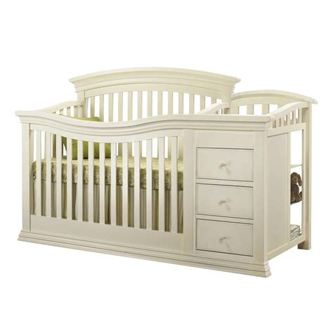 white crib and changing table crib with changing table furniture ideas