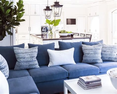 25 best ideas about blue couches on blue sofa