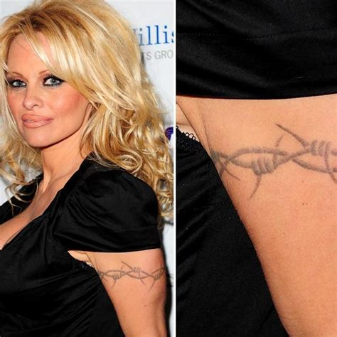 pam back tattoo barb wire wire center