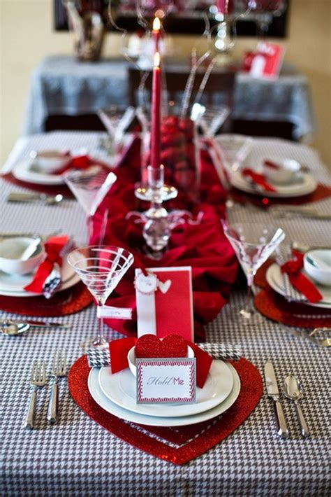valentine s day table settings unique elegant and impressive romantic valentine s day