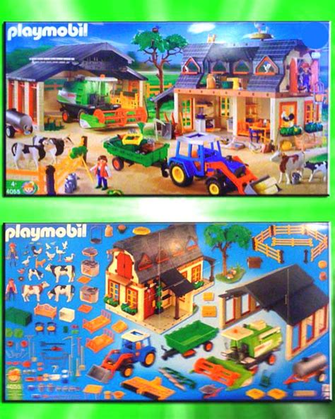 Scheune Playmobil by Neuf Playmobil 4055 Xl Ferme 3072 4490 3929 3073 229 Ebay