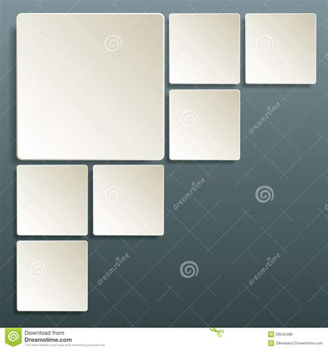 table layout vector table square layout abstract background template stock