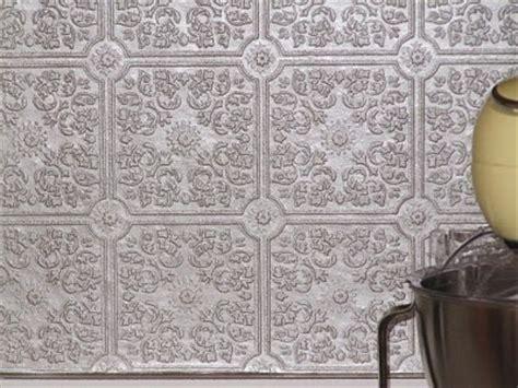 textured wallpaper backsplash 1000 images about tin tile backsplash on
