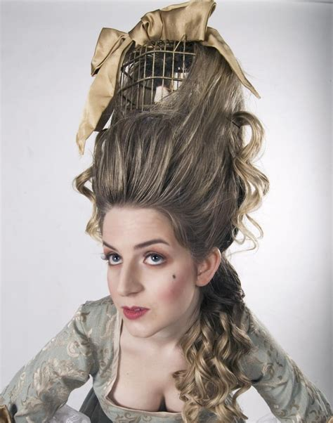 Hairstyles For Work Hats by Antoinette Hair With Bird Cage Antoinette