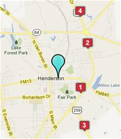 map of henderson texas henderson tx hotels motels see all discounts