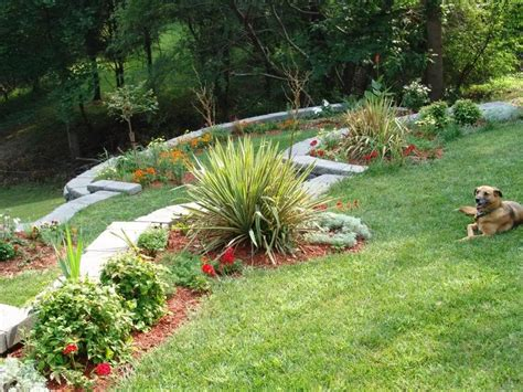 landscaping a hill in backyard landscaping ideas backyard on hill ztil news
