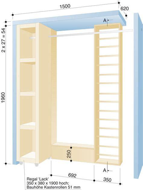 garderobe bauen garderobe mit schuhregal selbst de