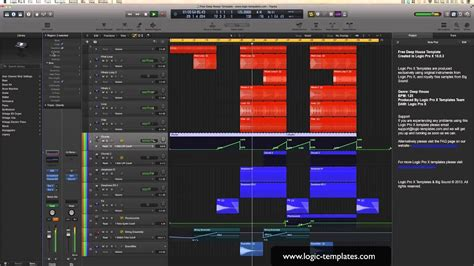 Free Logic Pro X Template Youtube Free Logic X Templates