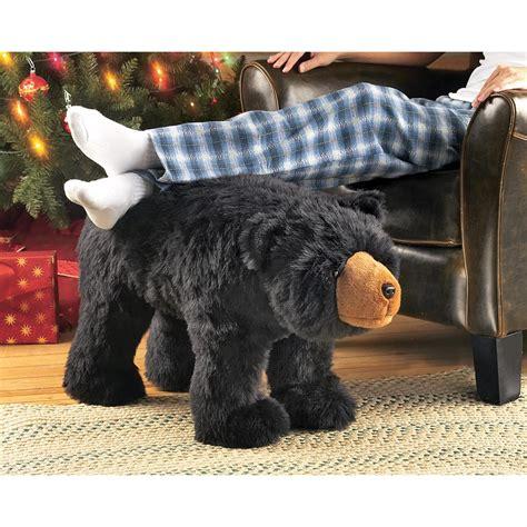 black bear ottoman black bear footstool 252330 accessories
