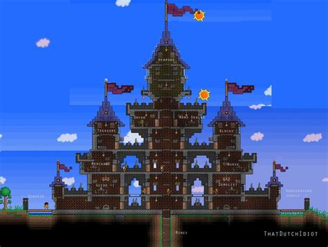 house layout terraria prity traditional casle terraria pinterest