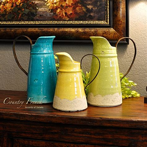 country vases country blue vase