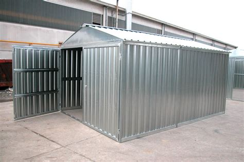 prezzi box auto box auto prefabbricato in lamiera zincata componibile a