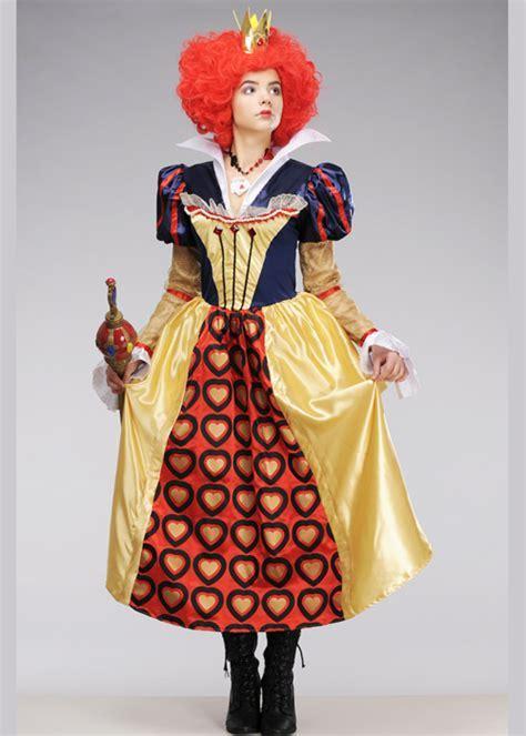 Alice In Wonderland The Red Queen Of Hearts Costume