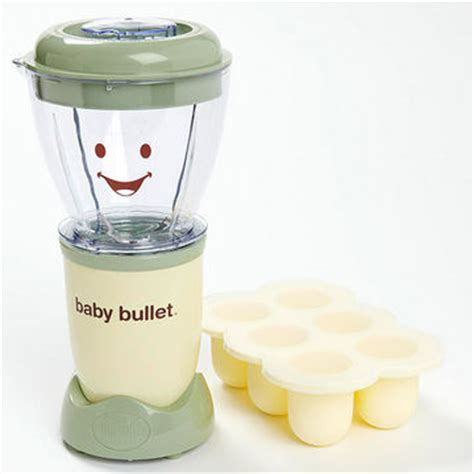 Magic Baby Bullet Food Processor a dozen tools that help you make your own baby food