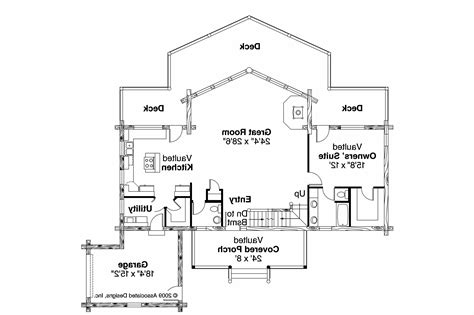 A Frame Floor Plans by A Frame House Plans Kodiak 30 697 Associated Designs