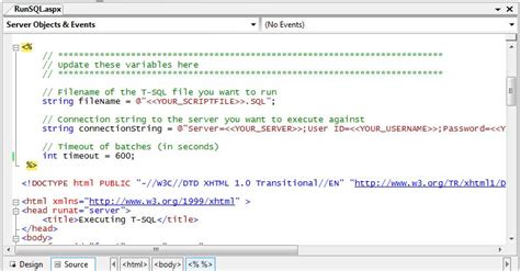 scottgu s tip trick how to upload a sql file to a hoster and execute it to deploy a sql