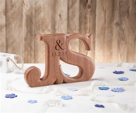 Original Linked Wedding Letters   House of Carvings