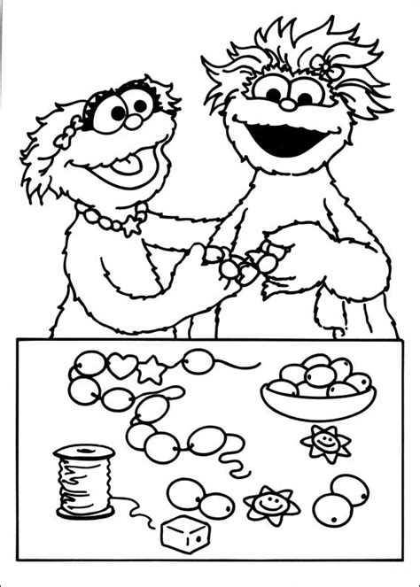 coloring pages numbers sesame street free printable sesame street coloring pages for kids