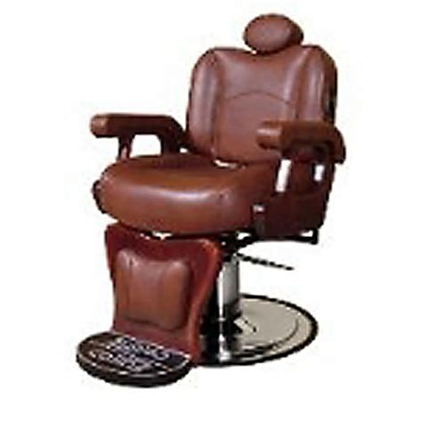 Collins Barber Chair by Collins Collinscommander Leather Barber Chair