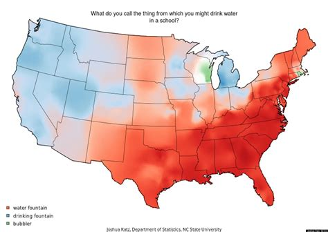 map us dialects these dialect maps showing the variety of american