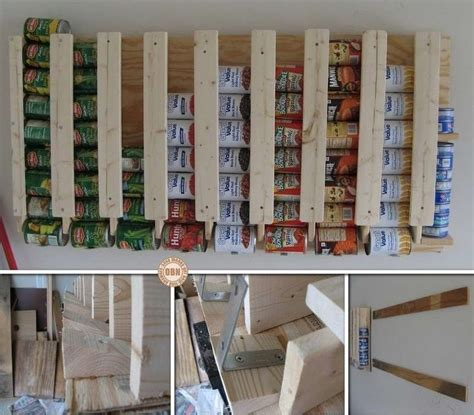 How To Build A Food Pantry by This Diy Canned Food Dispenser Is So Awesome For Kitchen