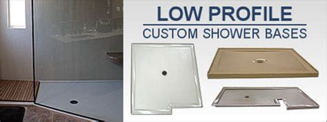 Low Profile Shower Base by Custom Shower Pans Bases America S Best Lifechangers