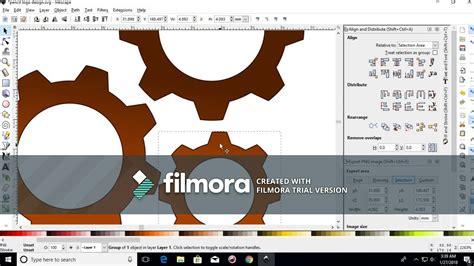 inkscape tutorial gear how to make gear in inkscape very easy tutorial youtube