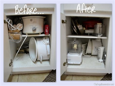 Organized Kitchen Cabinets simplify kitchen cabinets drawers and countertops