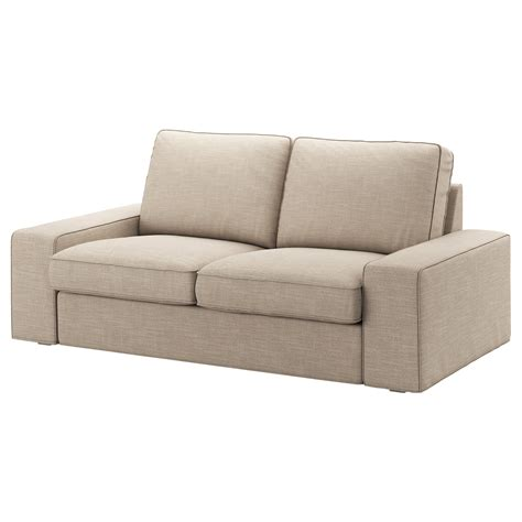 Kivik Two Seat Sofa Hillared Beige Ikea Ikea Kivik Sofa Bed
