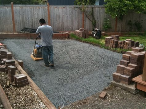 How To Install Pavers For A Patio Portland Landscaping Landscaping In Portland Oregon
