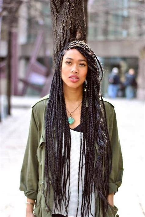 what braided hairstyle last the longest box braids on the brain fakefrenchgirl
