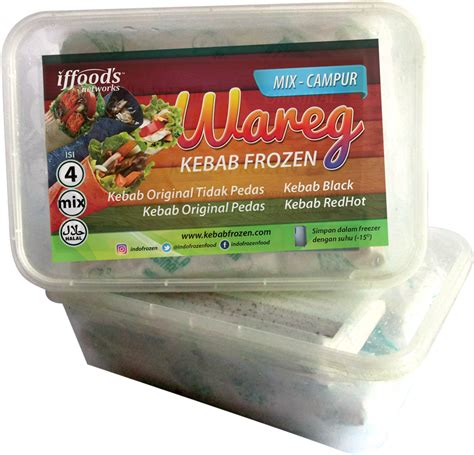 Frozen Kebab Beef Daging Sapi Isi 5pcs frozen food indofrozen network