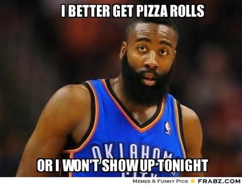 Pizza Rolls Meme - james brown meme