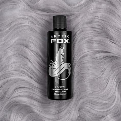 arctic fox silver hair dye sterling arctic fox dye for a cause