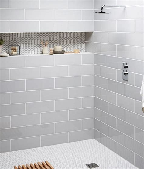 different tiles for bathroom like this simplistic look for the master shower just in a