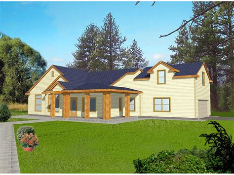 house plans with l shaped front porch