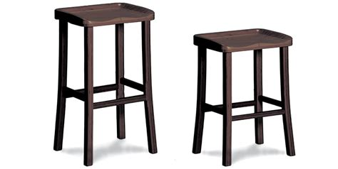 Cabinet Height Bar Stools by Tulip Bar And Counter Height Stoolsblack Walnut