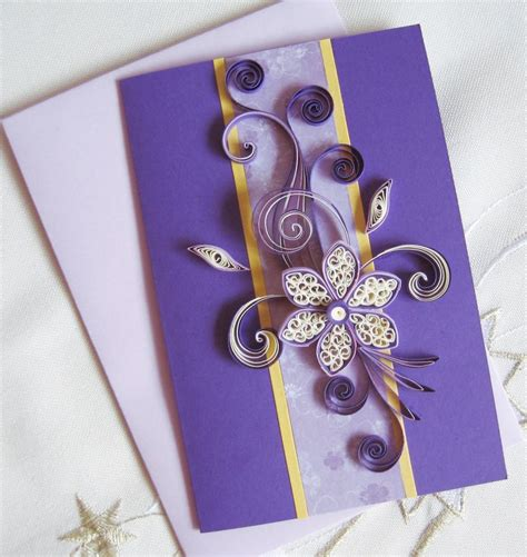 paper quilling birthday cards tutorial birthday card for girl sister mum wife paper