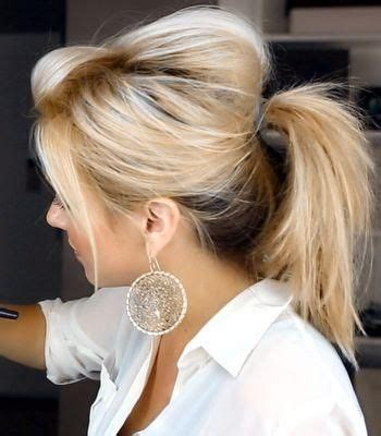 Poof Hairstyle by Pony Poof Hairstyles And Tips Hair