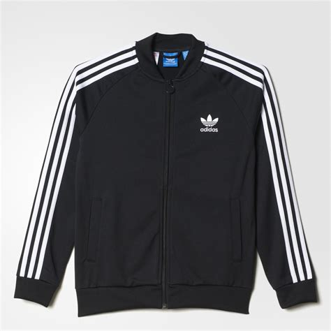 Jaket Boy Black 1 adidas superstar jacket black adidas us