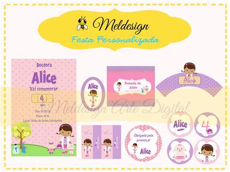 0905 doutora brinquedos kit c 2 moldes por r3270 kit festa digital doutora brinquedos mel design elo7