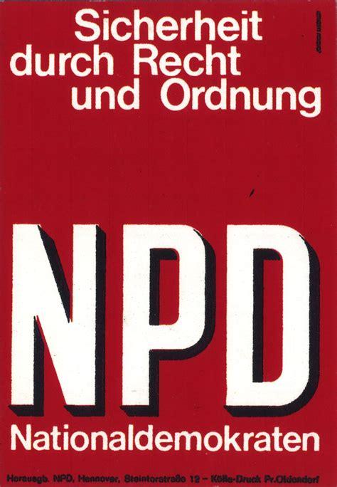 Rechtsradikale Aufkleber Kaufen by Lemo Objekt Npd Aufkleber Quot Sicherheit Durch Recht Und