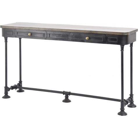 industrial style console table industrial style console table buy black metal consoles