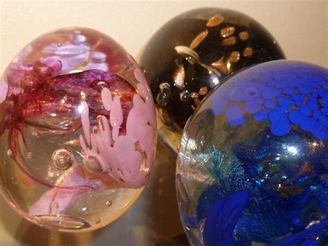 Handmade Glass Paperweights - handmade glass paperweights by iseldelth on deviantart