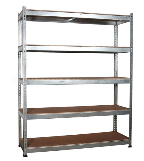 Garage Shelving Metal Workshop Garage Warehouse Shed Storage Shelf Racking Unit