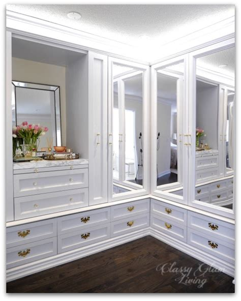 mirrored dressing room our diy custom dressing room is almost done glam living