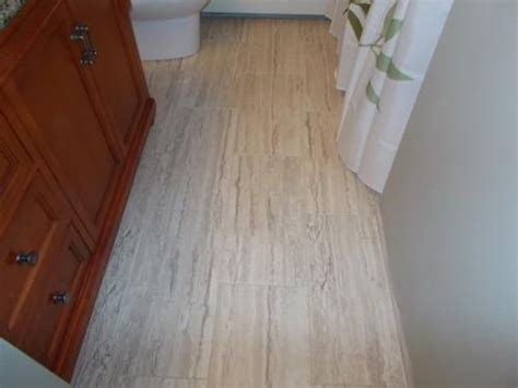 vinyl tile flooring travertine and ceramica on