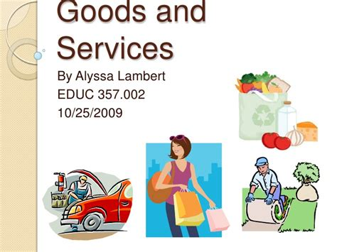 Goods And Services Images